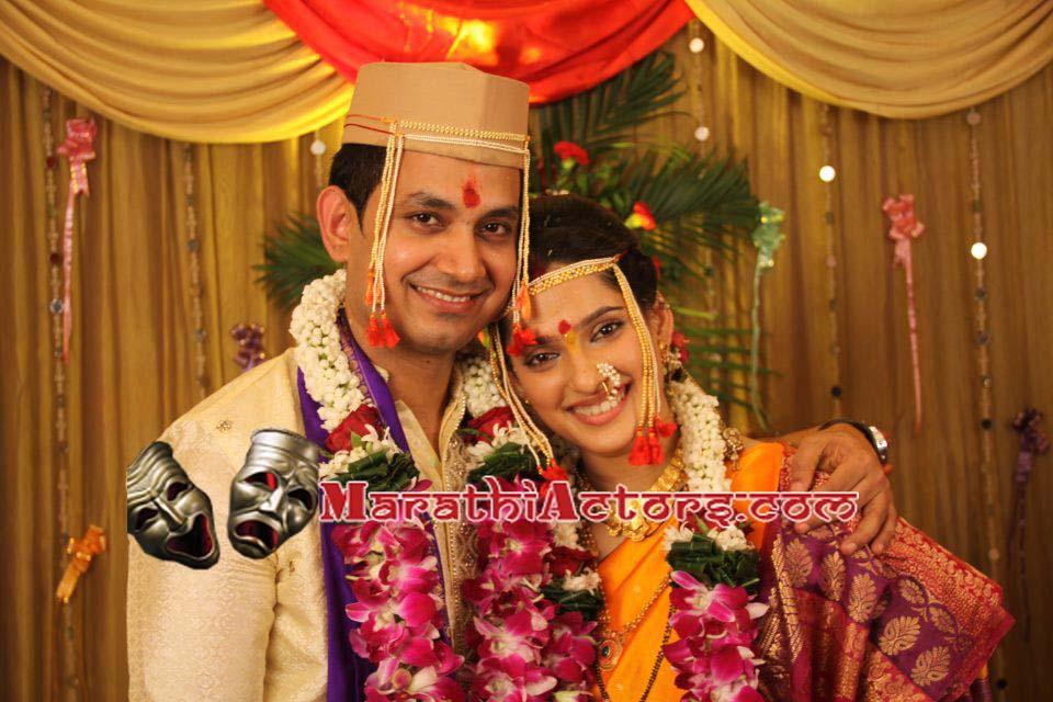 Girija Oak And Suhrud Godbole Wedding Photos