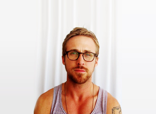 7328c39fc6 Miss Spectacles  Ryan Gosling Wearing Glasses