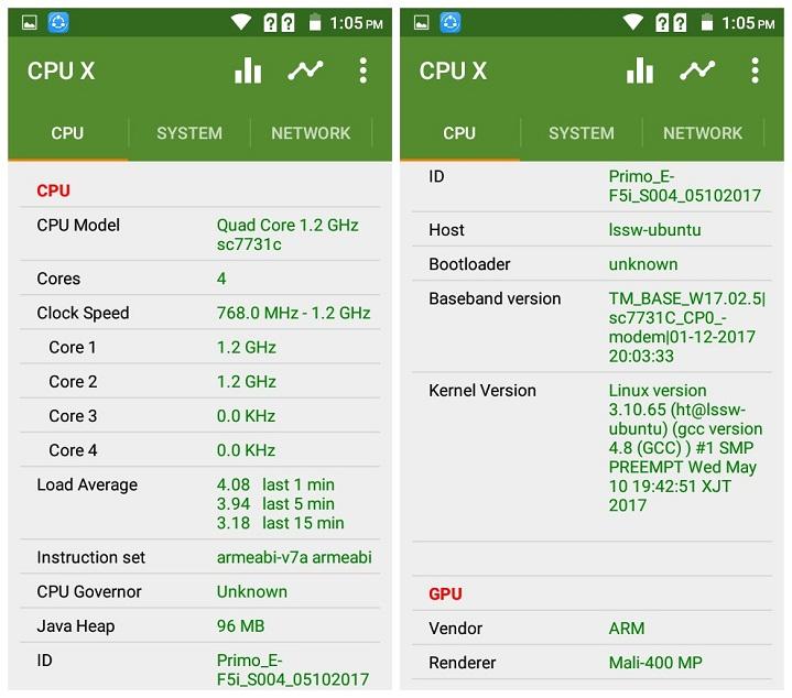 Primo EF5i Chipset GPU Walton Primo EF5i এর হ্যান্ডস-অন রিভিউঃ সাশ্রয়ী দামে অধিক ফিচার