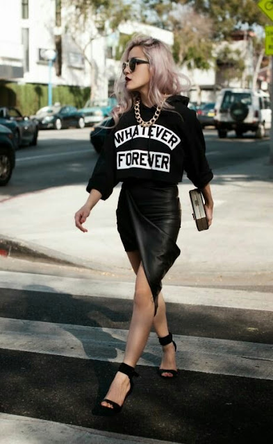 Street style black outfits