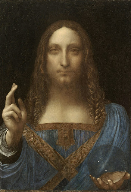 World's ten most expensive paintings/Salvator Mundi, Leonardo da Vinci
