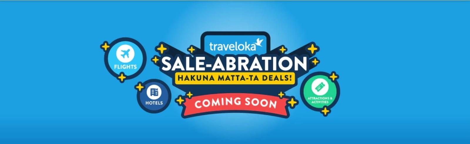 Tawaran Hebat Untuk Percutian Sempena Traveloka Saleabration Dan Matta Fair 2019