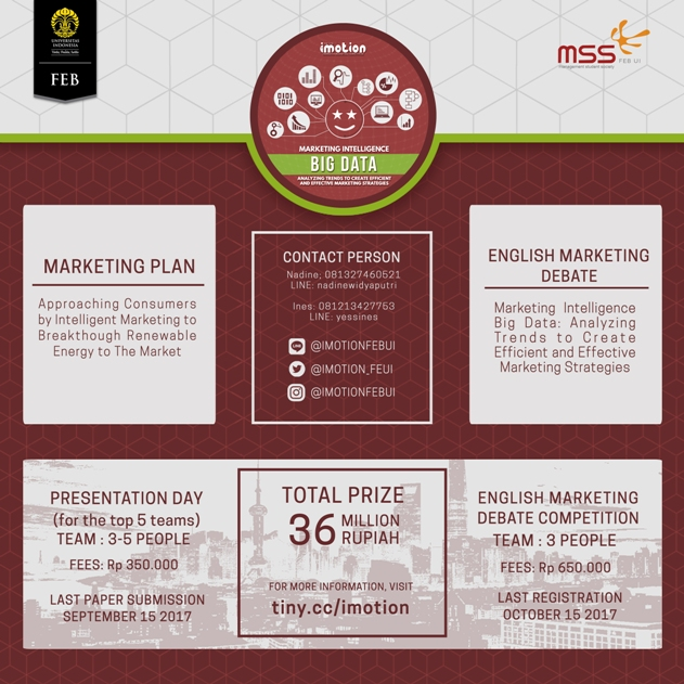 Lomba Marketing Plan Imotion 2017