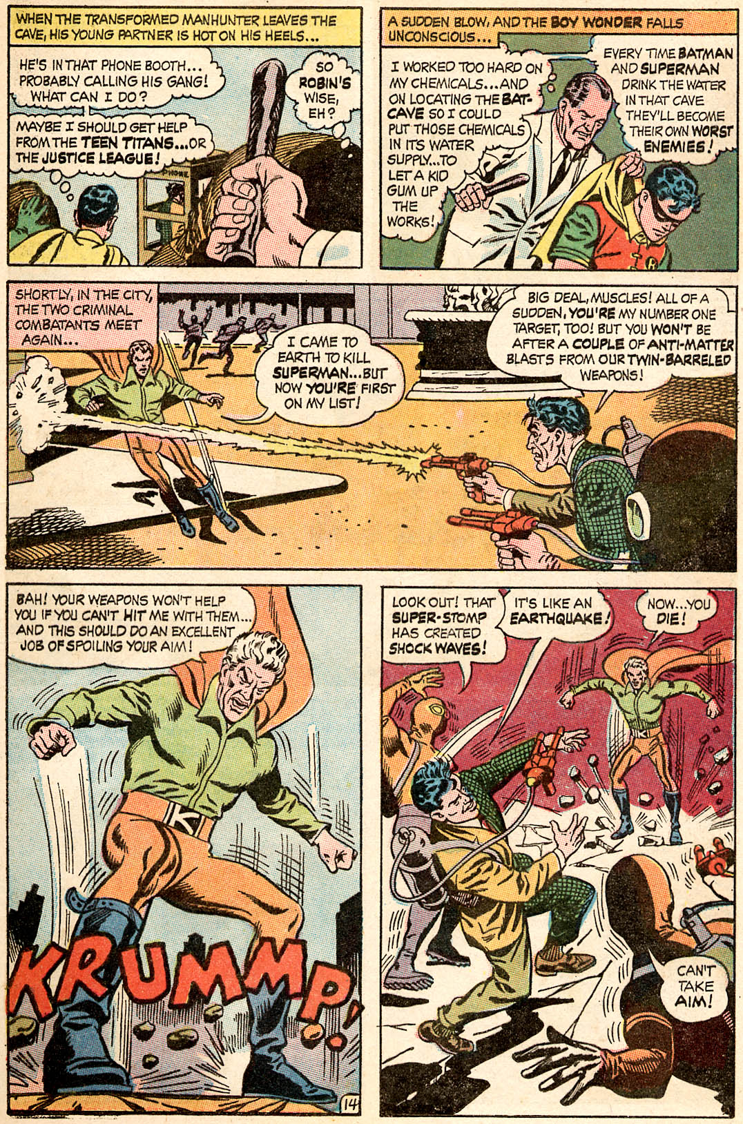 Read online World's Finest Comics comic -  Issue #173 - 17