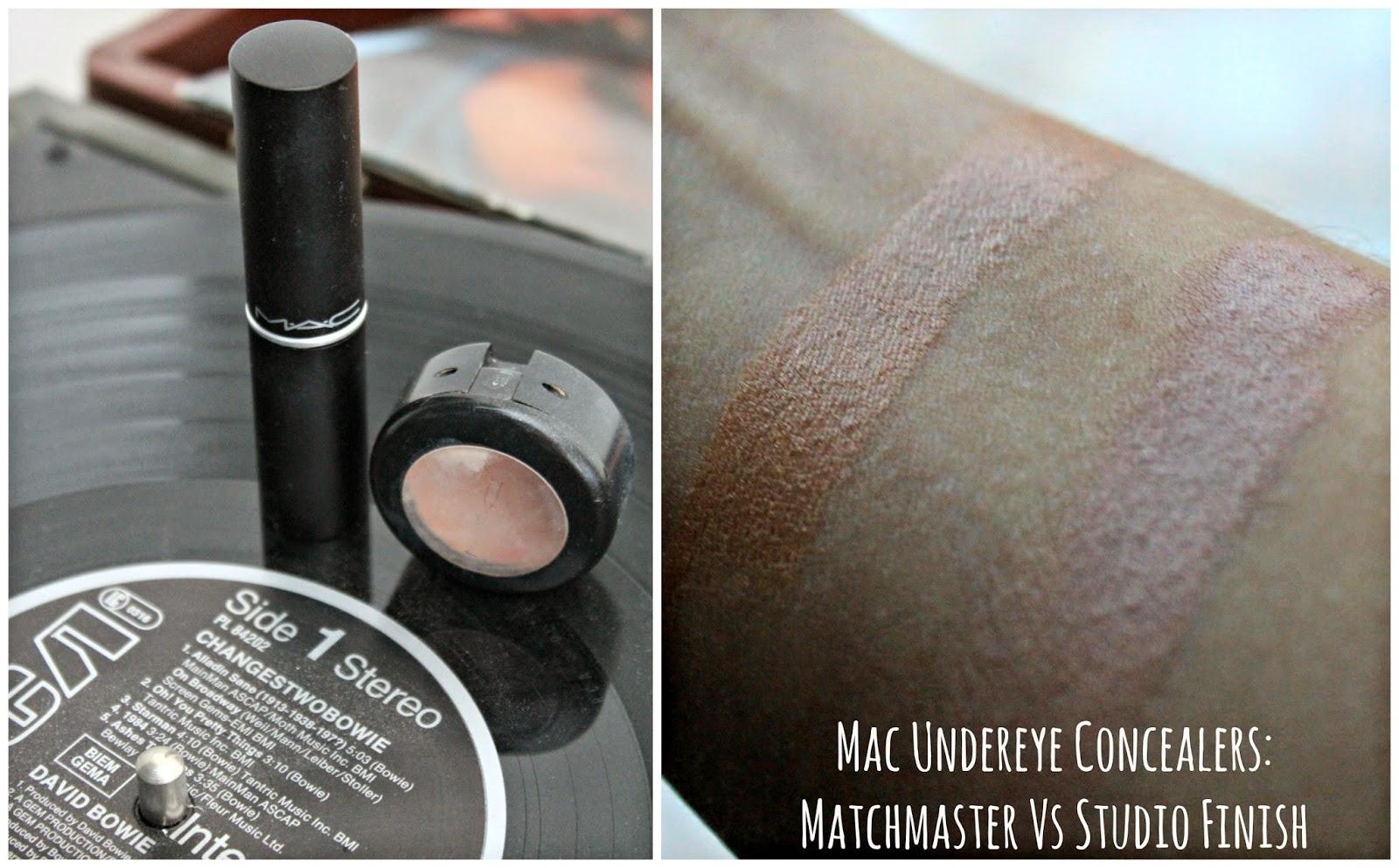 Mac Undereye Concealers: Matchmaster Vs Studio Finish