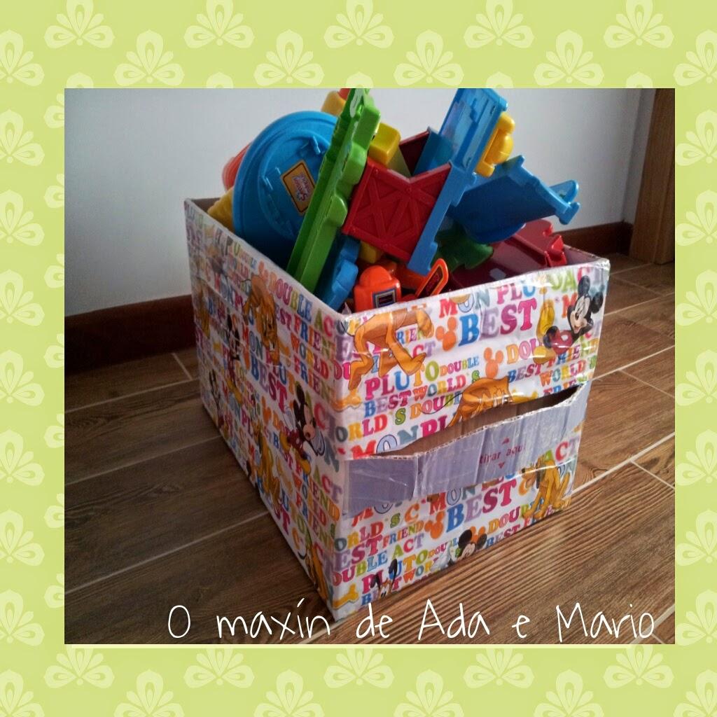 O max n de ada e mario las cajas organizadoras de los - Cajas para almacenar juguetes ...