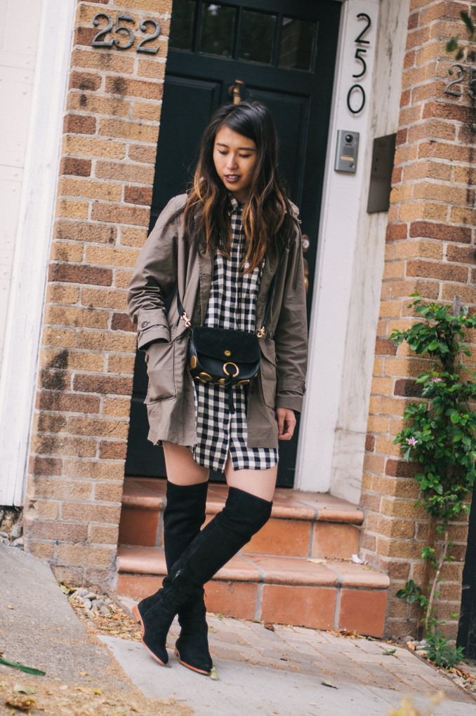 rainy weather style san francisco fashion blogger