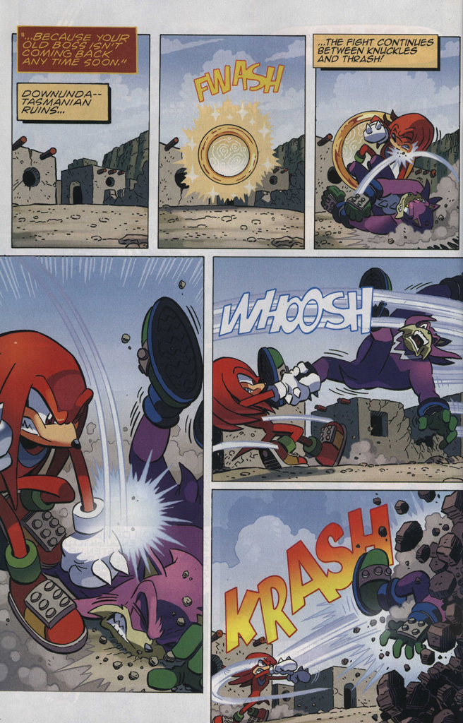 Read online Sonic The Hedgehog comic -  Issue #246 - 10