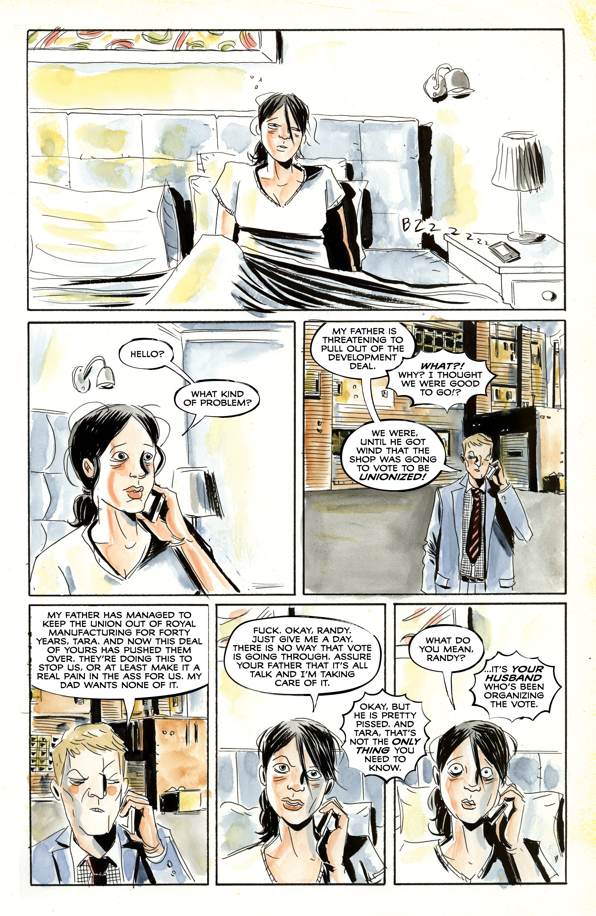 Read online Royal City comic -  Issue #3 - 5