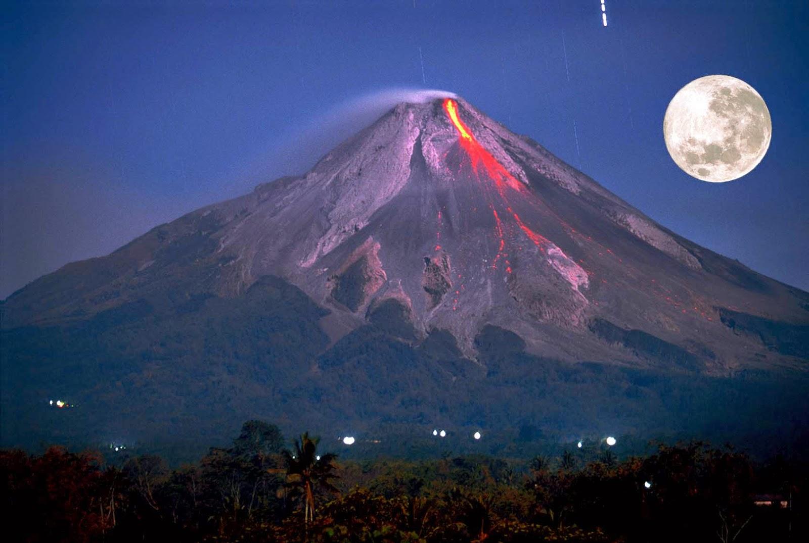 Gunung Merapi indonesia