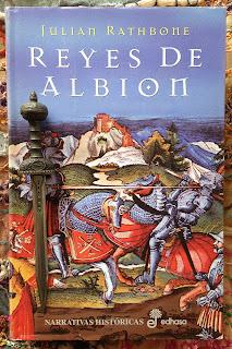 Portada del libro Reyes de Albión, de Julian Rathbone