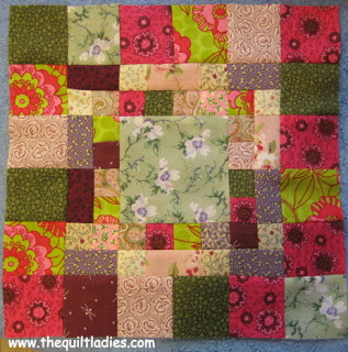 Simple Quilt Pattern Medallion Square
