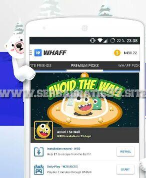 aplikasi Whaff Rewart