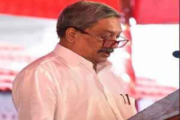 cm-manohar-parrikar-take-oath-a-mla-in-goa-assembly-news