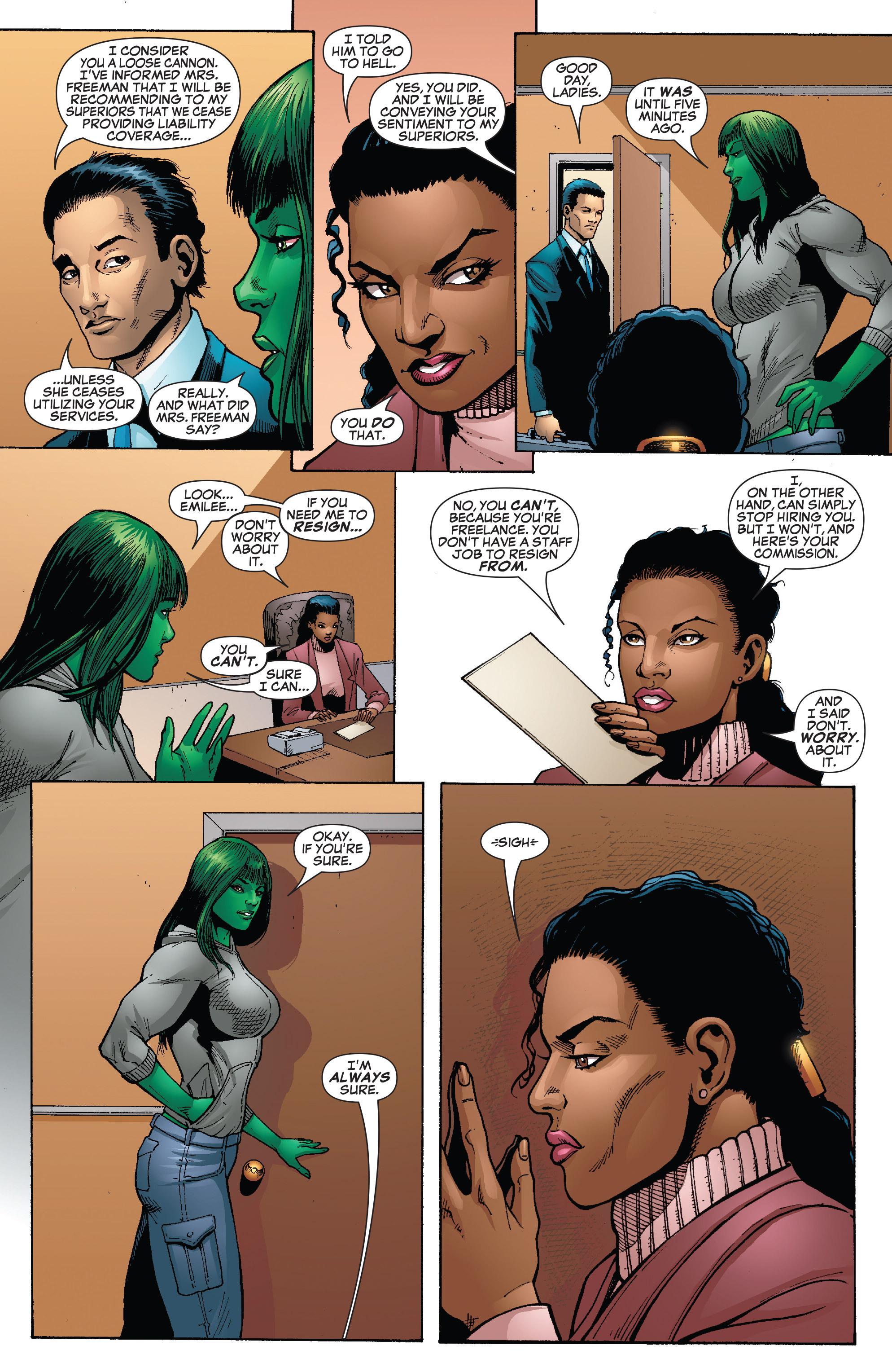 Read online She-Hulk (2005) comic -  Issue #24 - 12