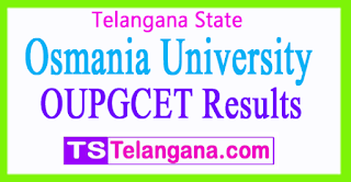 OUCET 2017 Results OUPGCET 2017 Rank Cards Download
