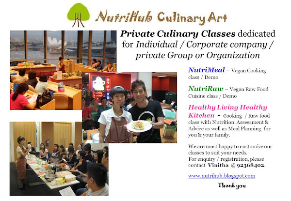 Private Culinary Classes dedicated for Individual / Corporate / Group