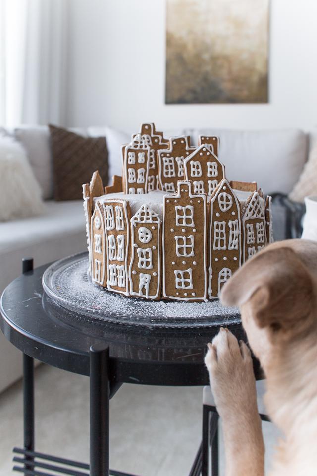 Villa H, resepti, porkkana kinuski kakku, joulukakku, christmas cake