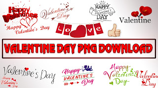 Happy Valentine Day Editing PNG Download || Happy Valentine Day PNG [ PACK-1]