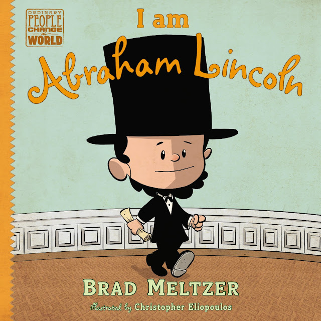 "Companion book for President's Day, ""I am Abraham Lincoln""."