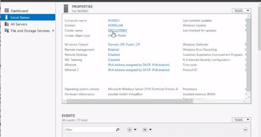 How to Remove Active/Passive node from SQL Server 2016 Failover Cluster with Demo