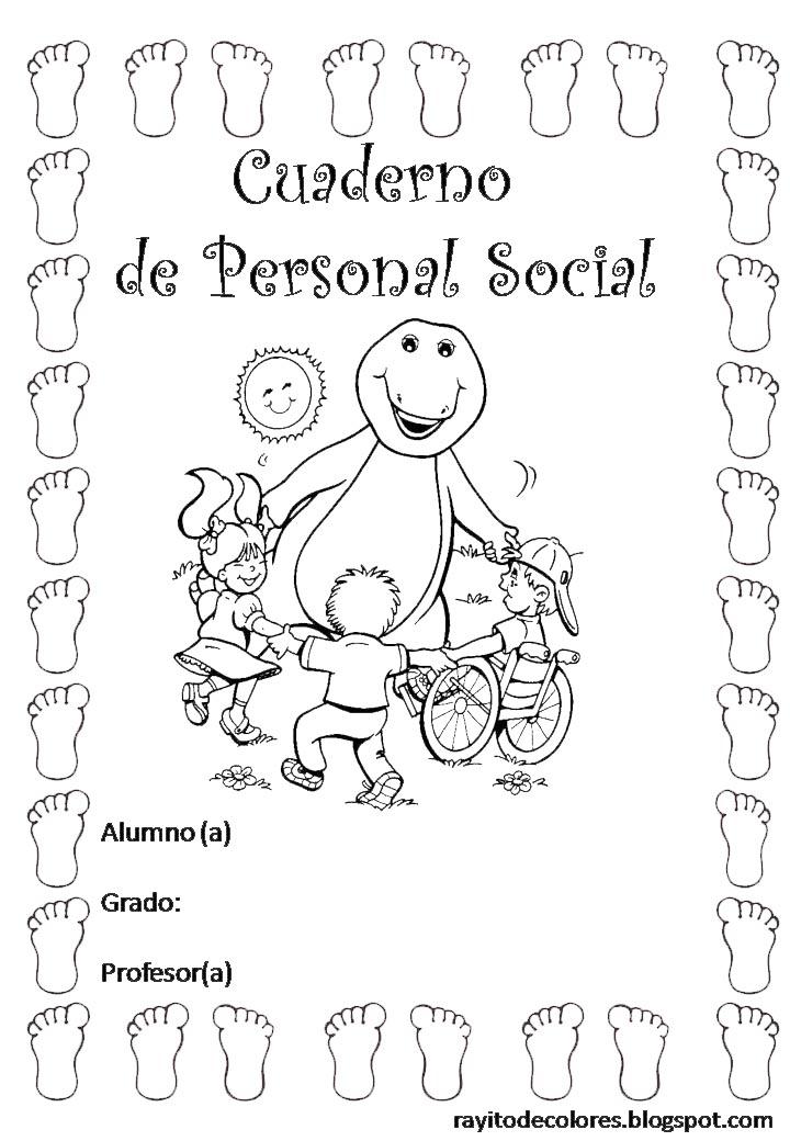 cuaderno de Personal Social