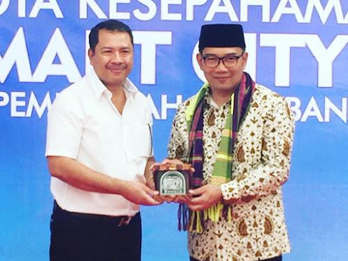 Kerja sama smart city Bandung dan Kota Bima