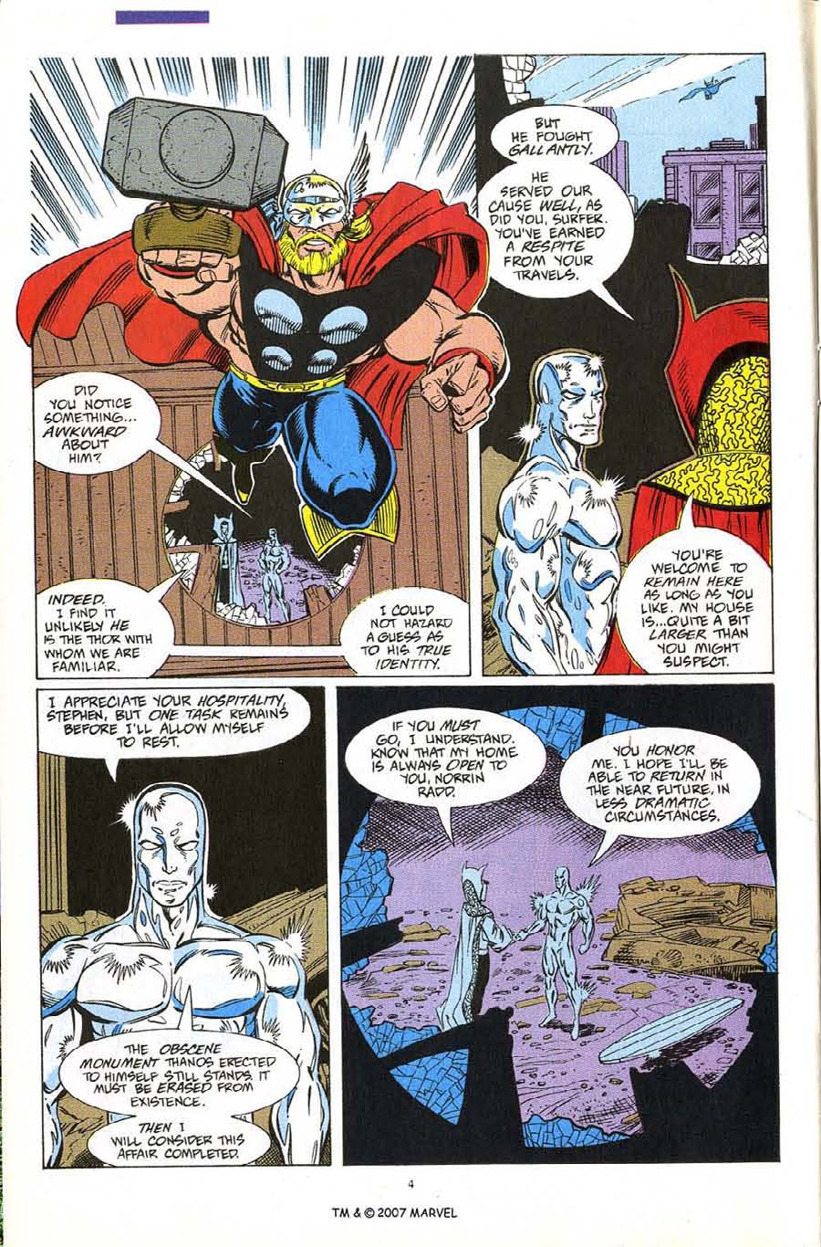 Read online Silver Surfer (1987) comic -  Issue #60 - 6