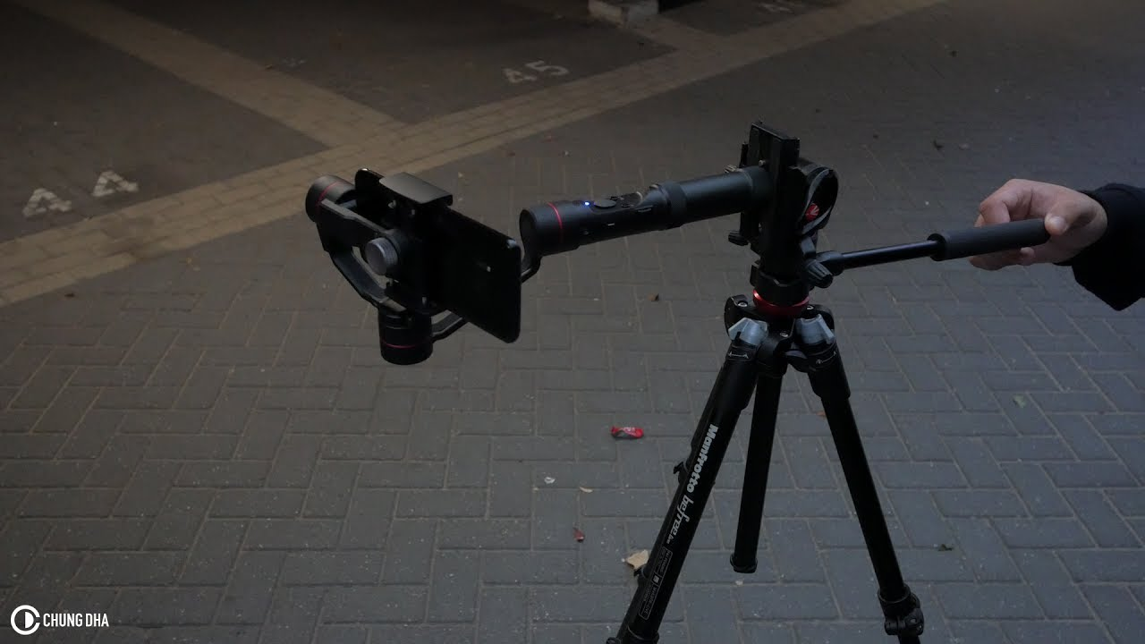 Smooth Gimbal Slider Shot tutorial by Chung Dha