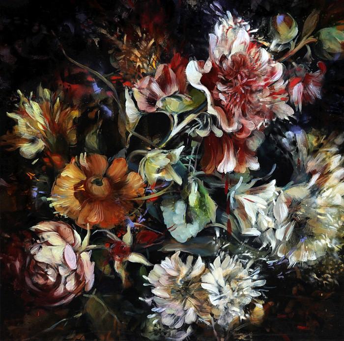 Рисунки цветов. Carmelo Blandino 9