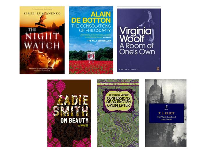 August Books List / Reviews