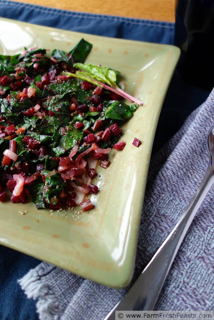 http://www.farmfreshfeasts.com/2013/06/sauteed-beet-greens-and-spring-onions.html
