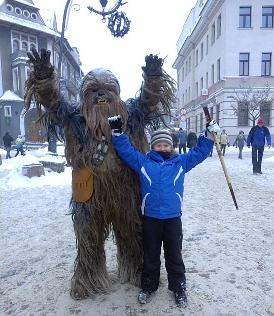 Spotkanie z Chewbaccą