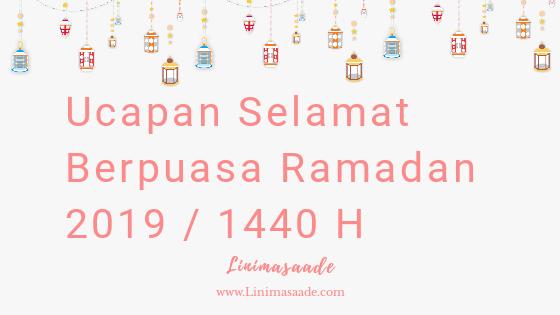 32+ Ucapan Selamat Berpuasa Ramadan 2019 Lengkap