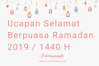 32+ Ucapan Selamat Berpuasa Ramadan 2020 Lengkap