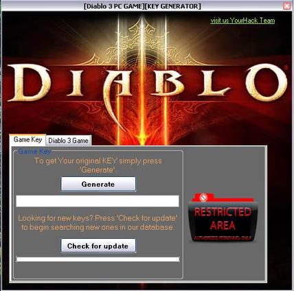 D2 cd-key