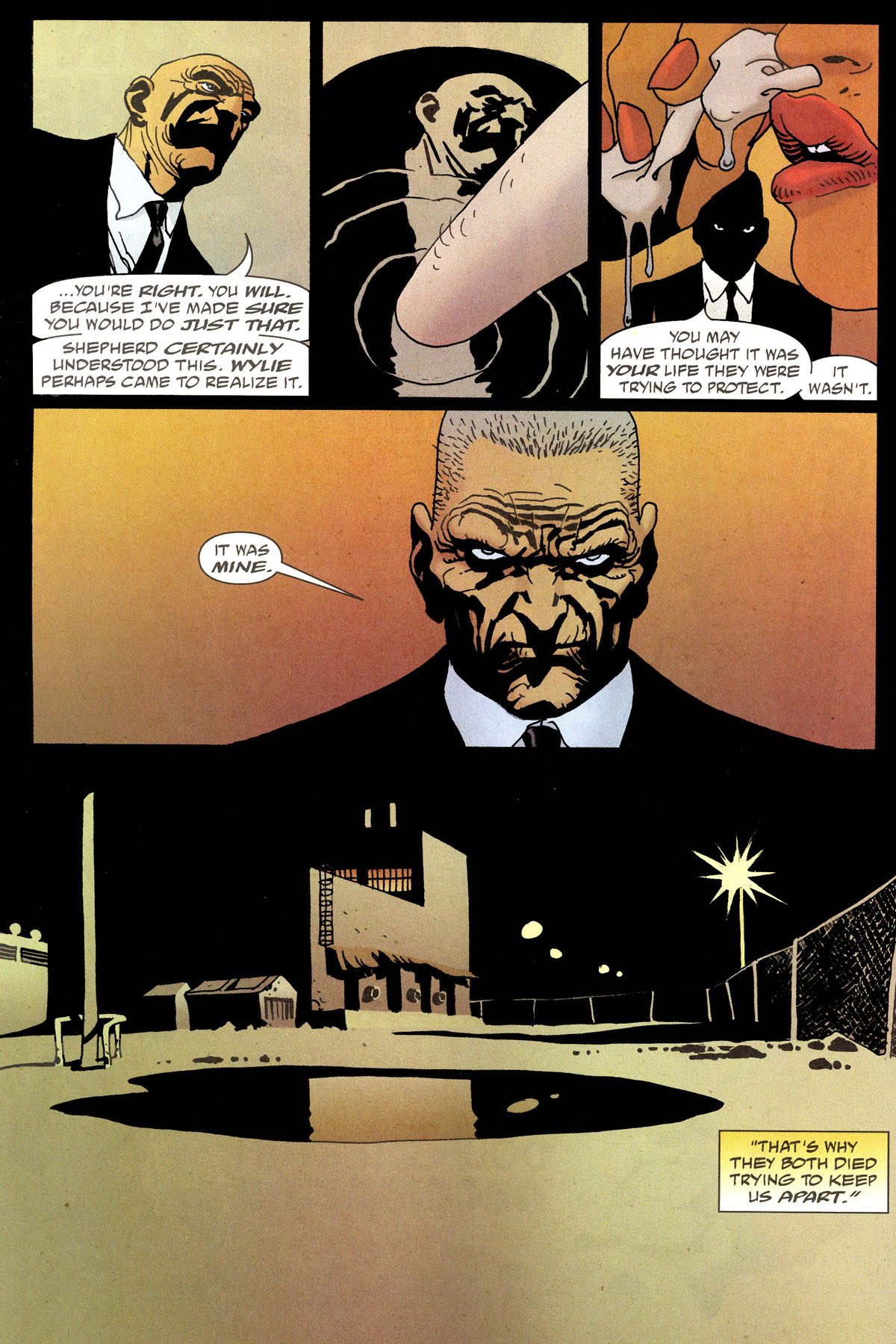 Read online 100 Bullets comic -  Issue #80 - 18