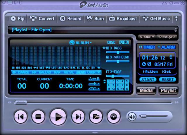 تحميل برنامج جيت أوديو Download Jet Audio لتشغيل الميديا