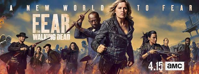 Fear the Walking Dead: key art della Stagione 4