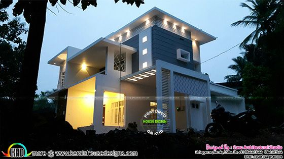 2300 sq-ft modern house 5 bedroom
