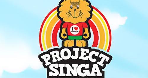 Coming Singa 34 Design Urban Vinyl Figurine