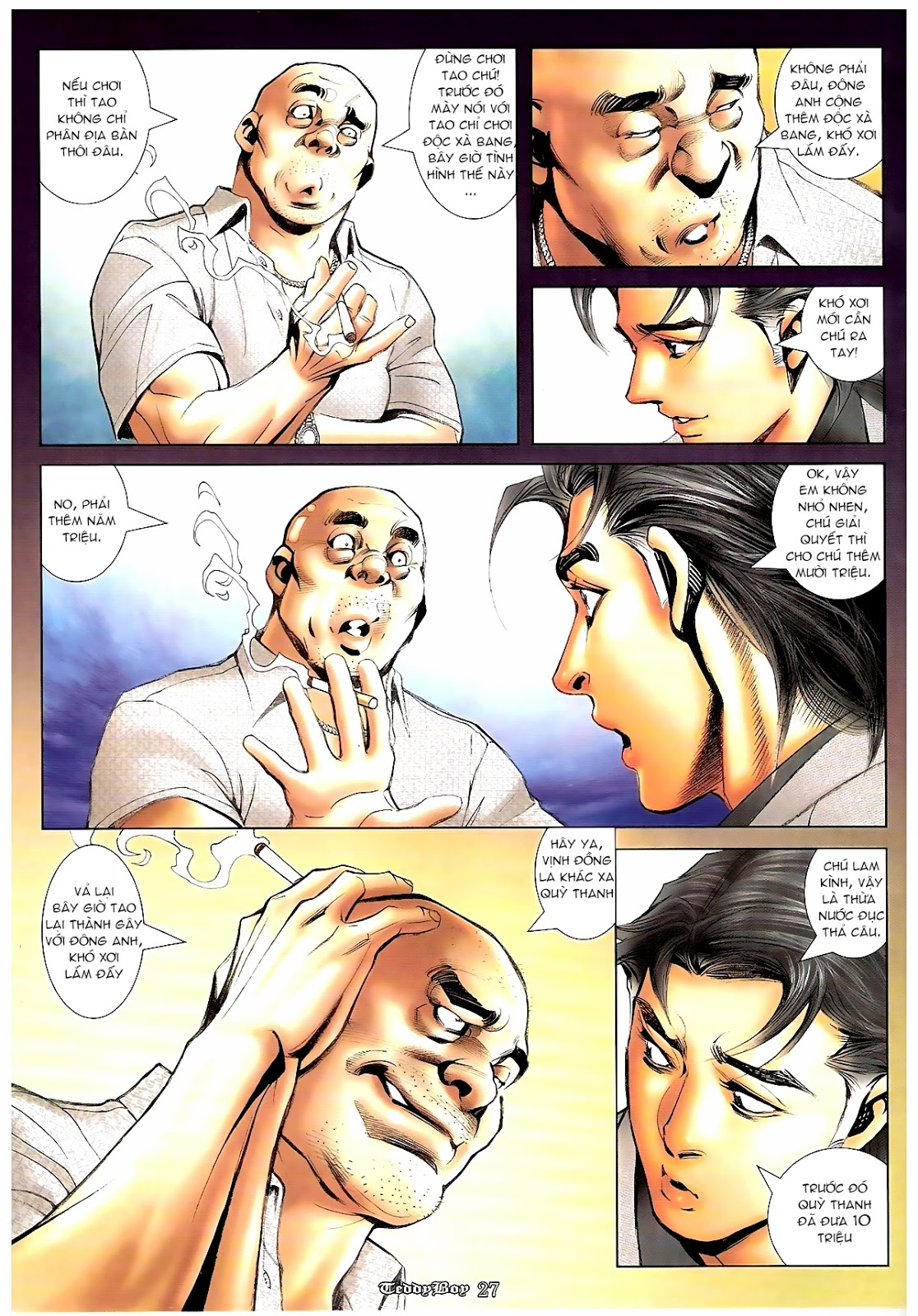 Người Trong Giang Hồ - Chapter 1190: Con của Chó Xám - Pic 24