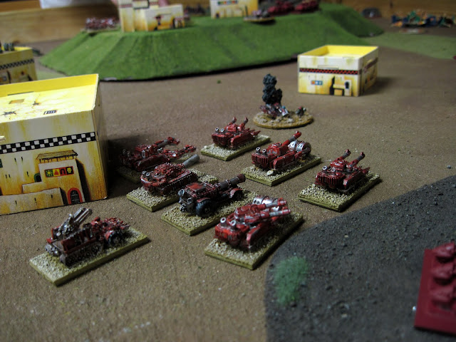 The Blitz Brigade hunts for targets.