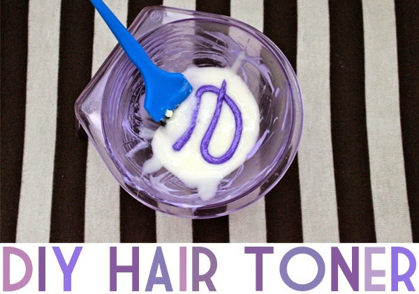 DIY Hair Toner Adventures   Neon Rattail