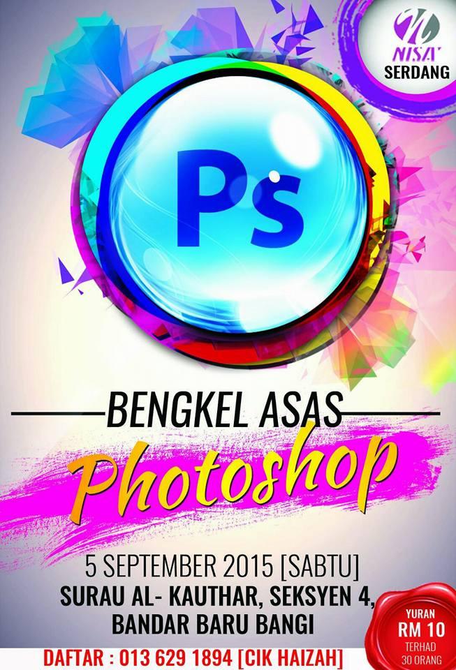Review Bengkel Asas Adobe anjuran Nisa Serdang