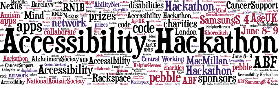 Hacking for Good at the Accessibility Hackathon | jr0cket