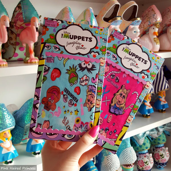 2 packets of Irregular Choice Disney Muppets patterned tights