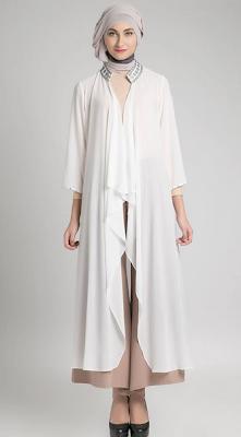 Model Baju Hamil Gamis Untuk Kerja Modern Terbaru