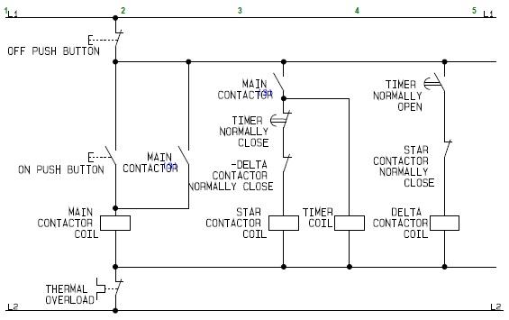 Motor Control Circuit Wiring Diagram Motor Control Circuit Diagram