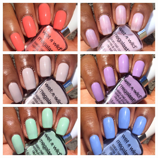 Wet N Wild Silver Lake Limited Edition Spring 2015 Swatches & Review
